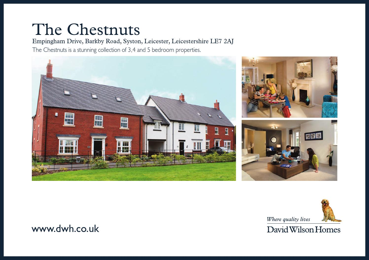 David Wilson The Chestnuts By Newhomesforsale Co Uk Issuu