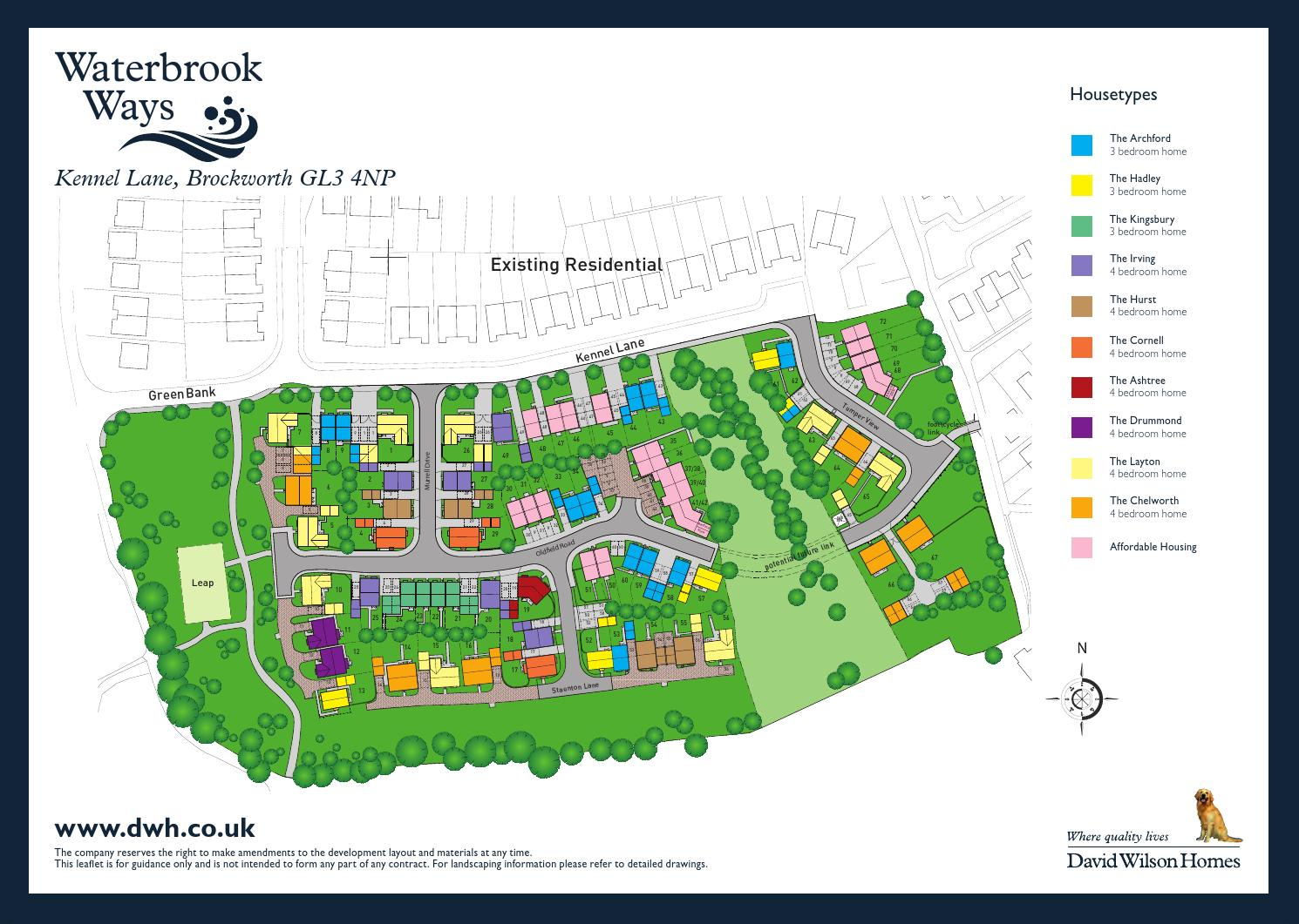 David Wilson Waterbrook Ways By Newhomesforsale Co Uk Issuu