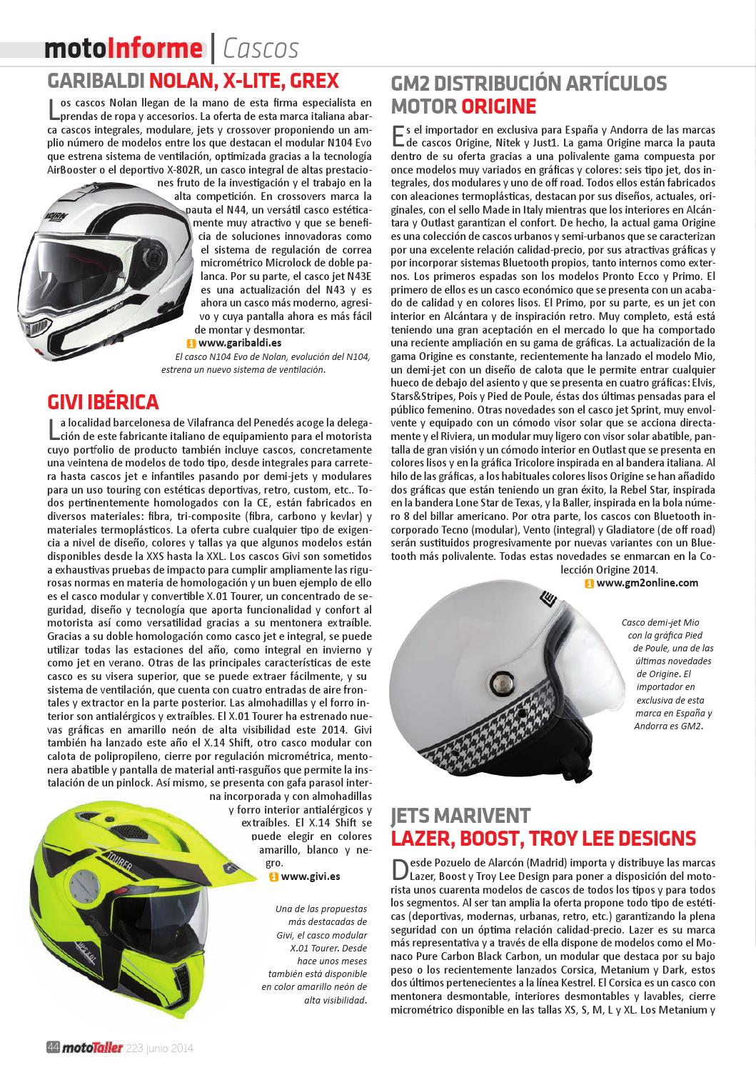 85752bd6 MotoTaller 223 - 6/2014 by CEI Arsis, S. L. - issuu