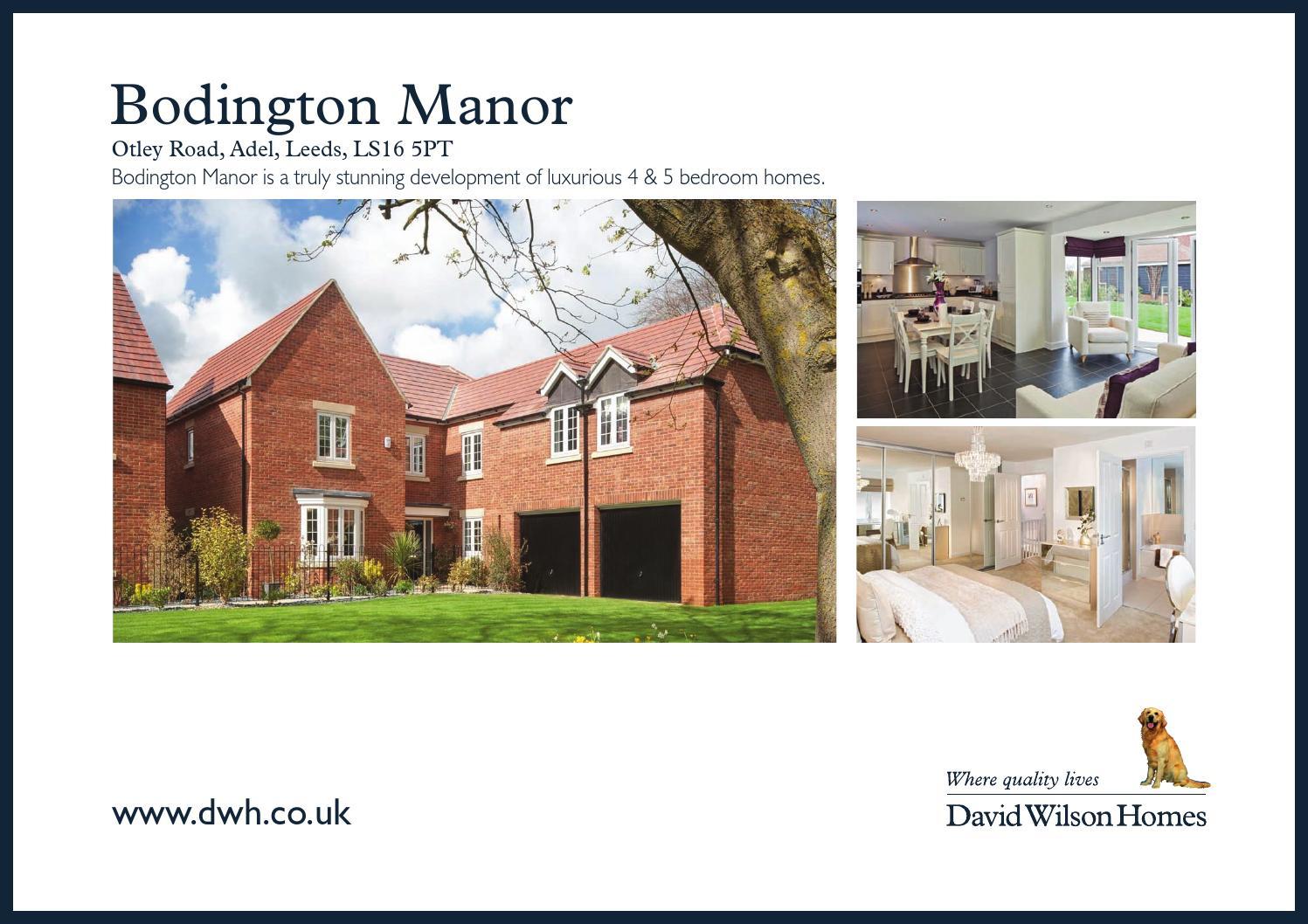 David Wilson Bodington Manor By Newhomesforsale Co Uk Issuu