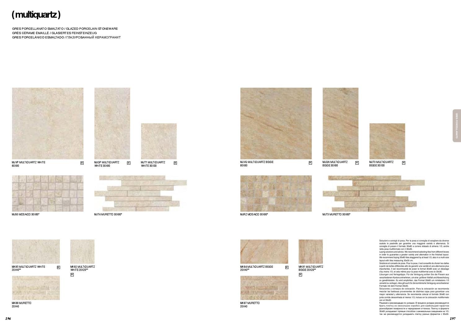 Posa Piastrelle 30X60 A Correre marazzi italy collection book 2014 by iris - issuu