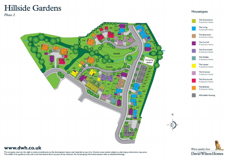 David Wilson Hillside Gardens By Newhomesforsale Co Uk Issuu
