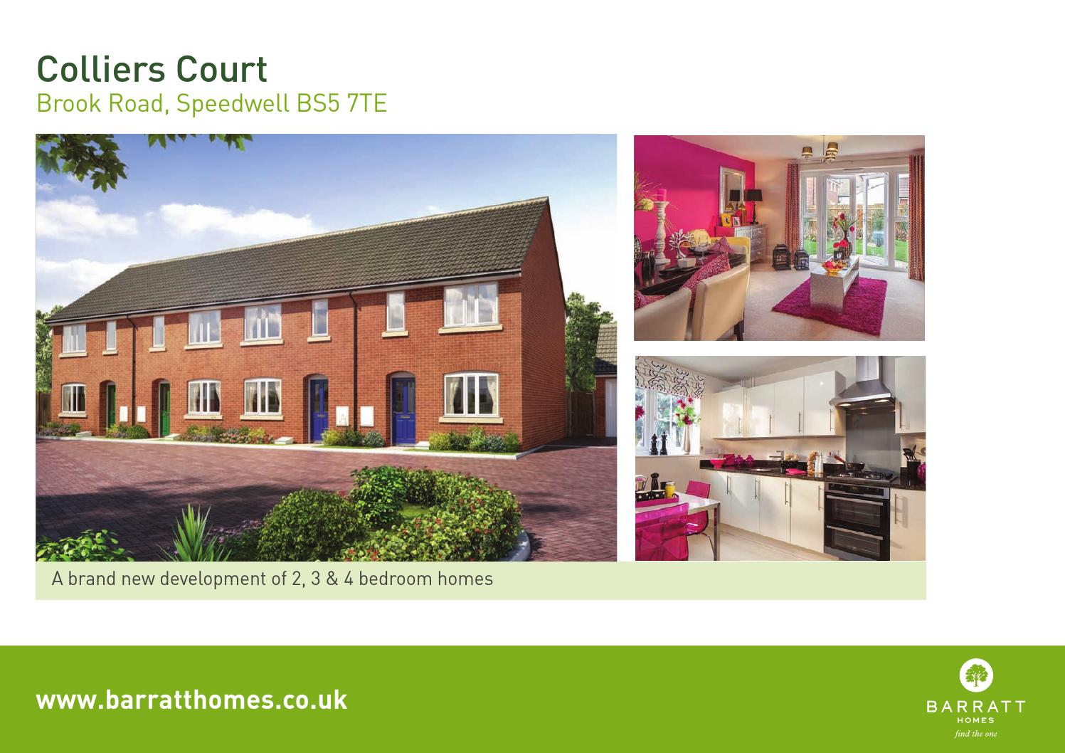 Barrat Colliers Court By Newhomesforsale Co Uk Issuu