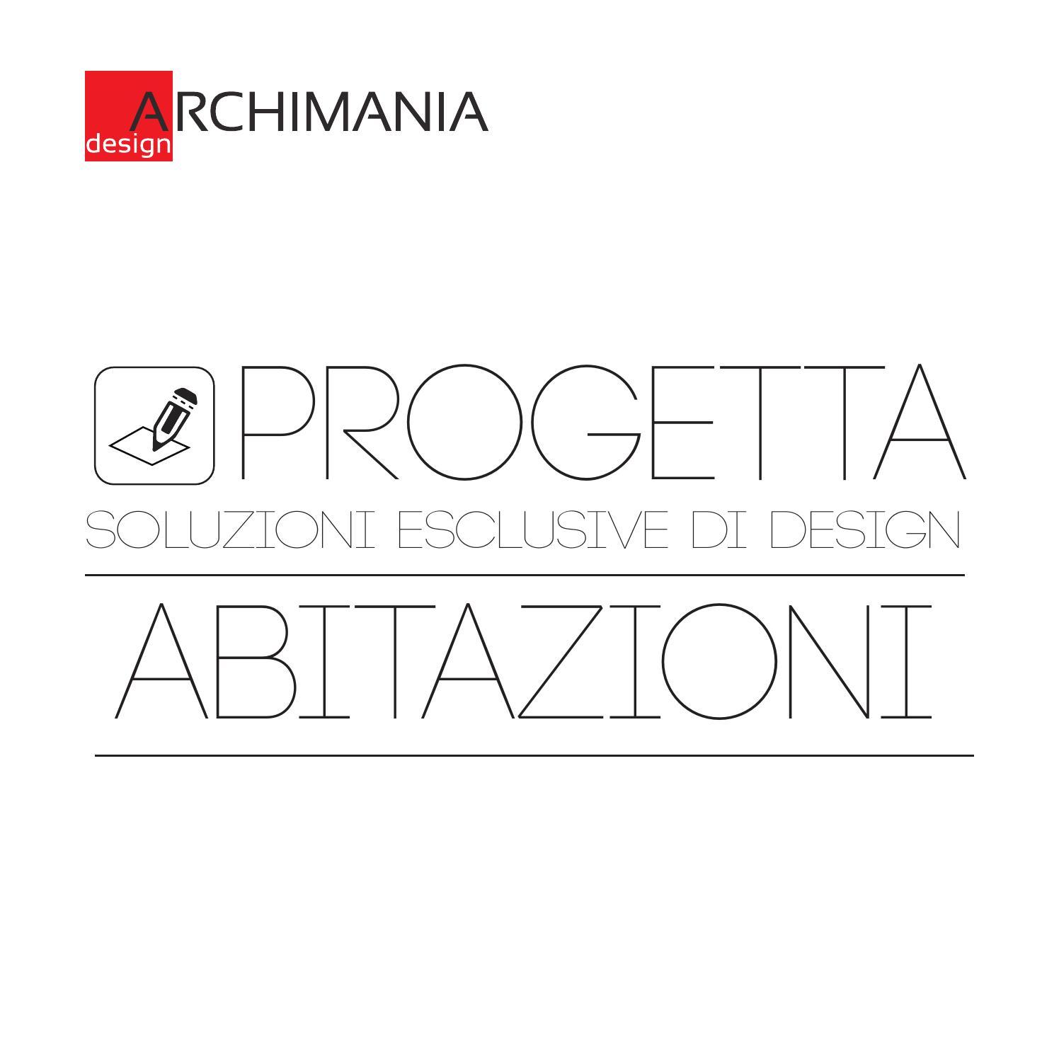 Progetta abitazioni by archimania design issuu for Design abitazioni