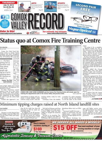 Comox Valley Record July 10 2014 By Black Press Issuu