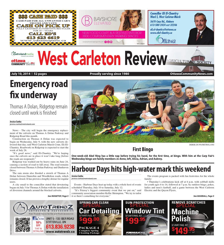 e9c307685 Westcarleton071014 by Metroland East - West Carleton Review - issuu