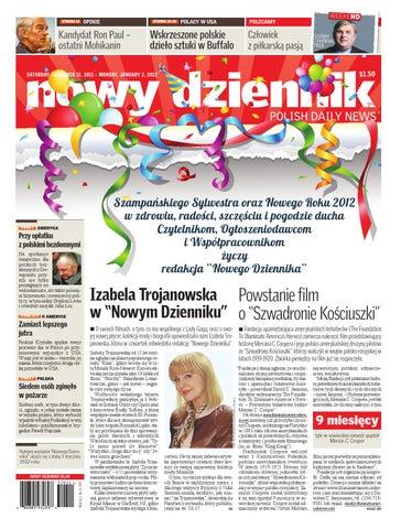 ccb0a61d21 Nowy Dziennik 2011 12 31 by Nowy Dziennik - issuu