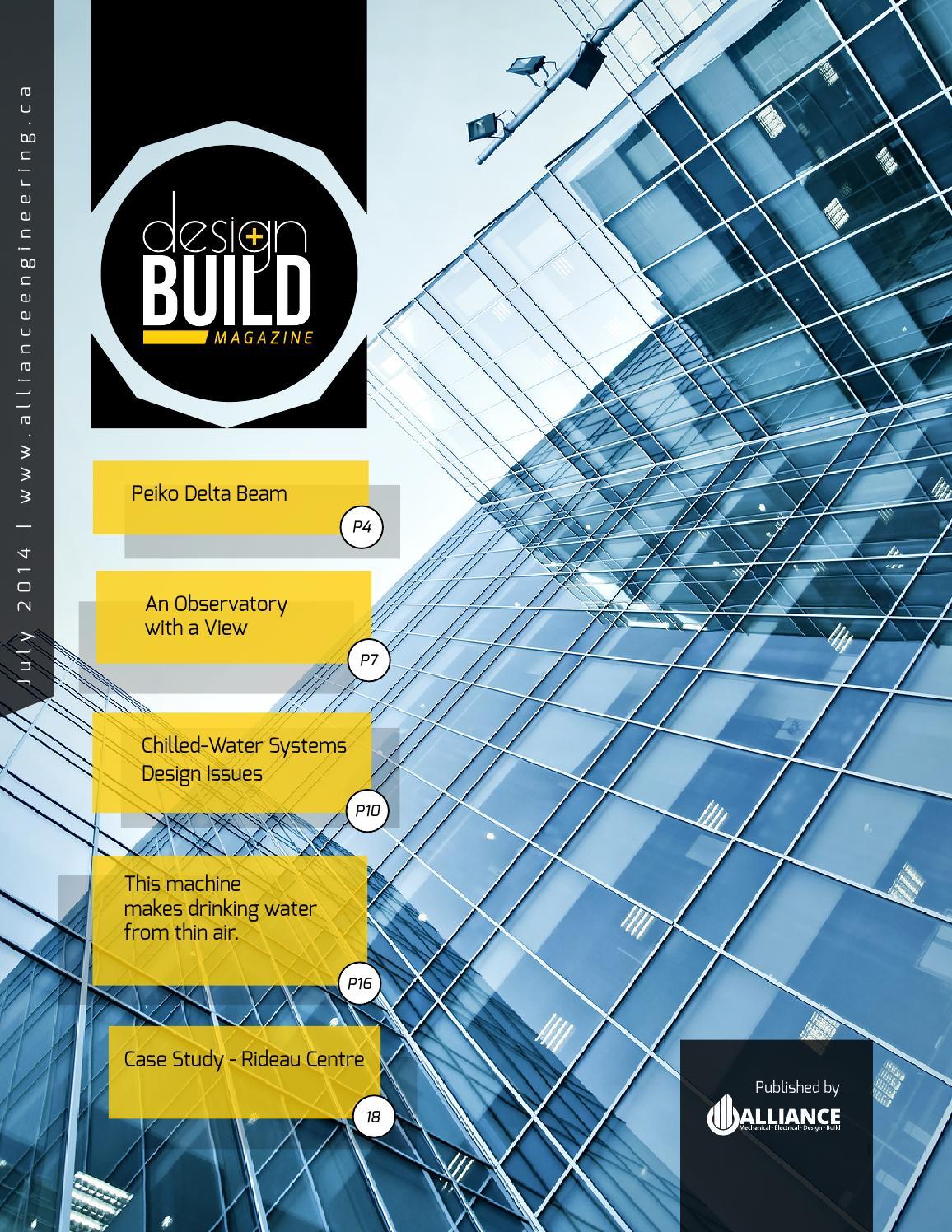 Design Build Magazine - July 2014 by Alliance Engineering - issuu