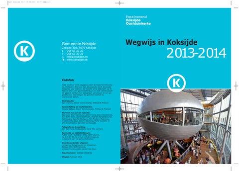 63de411ab76 Wegwijs in koksijde2013 2014 by Jan Duchau - issuu