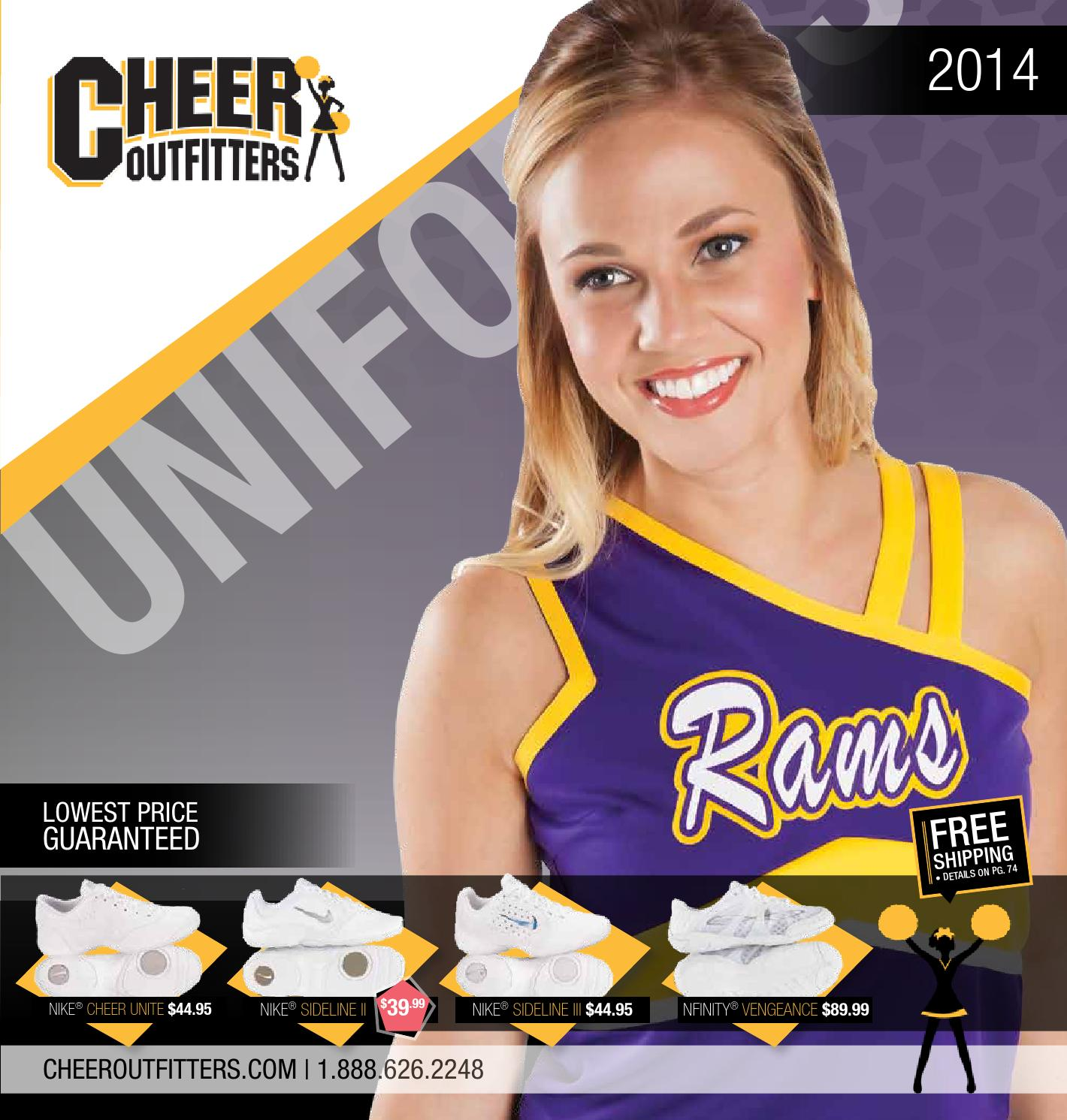 Cheer Outfitters Catalog 2014 by Cheer Outfitters issuu