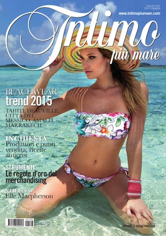 a1cffa34d206 Intimo Più Mare 196 by Editoriale Moda - issuu