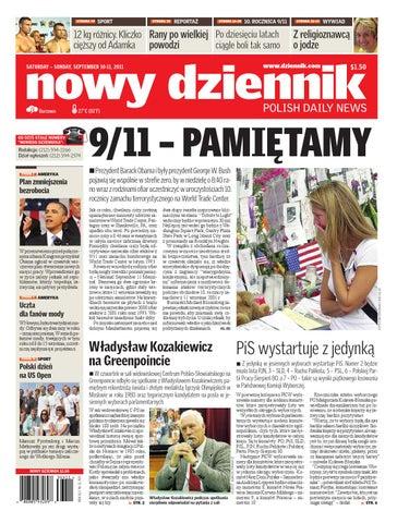 dce362a05dbc9b Nowy Dziennik 2011/09/10 by Nowy Dziennik - issuu