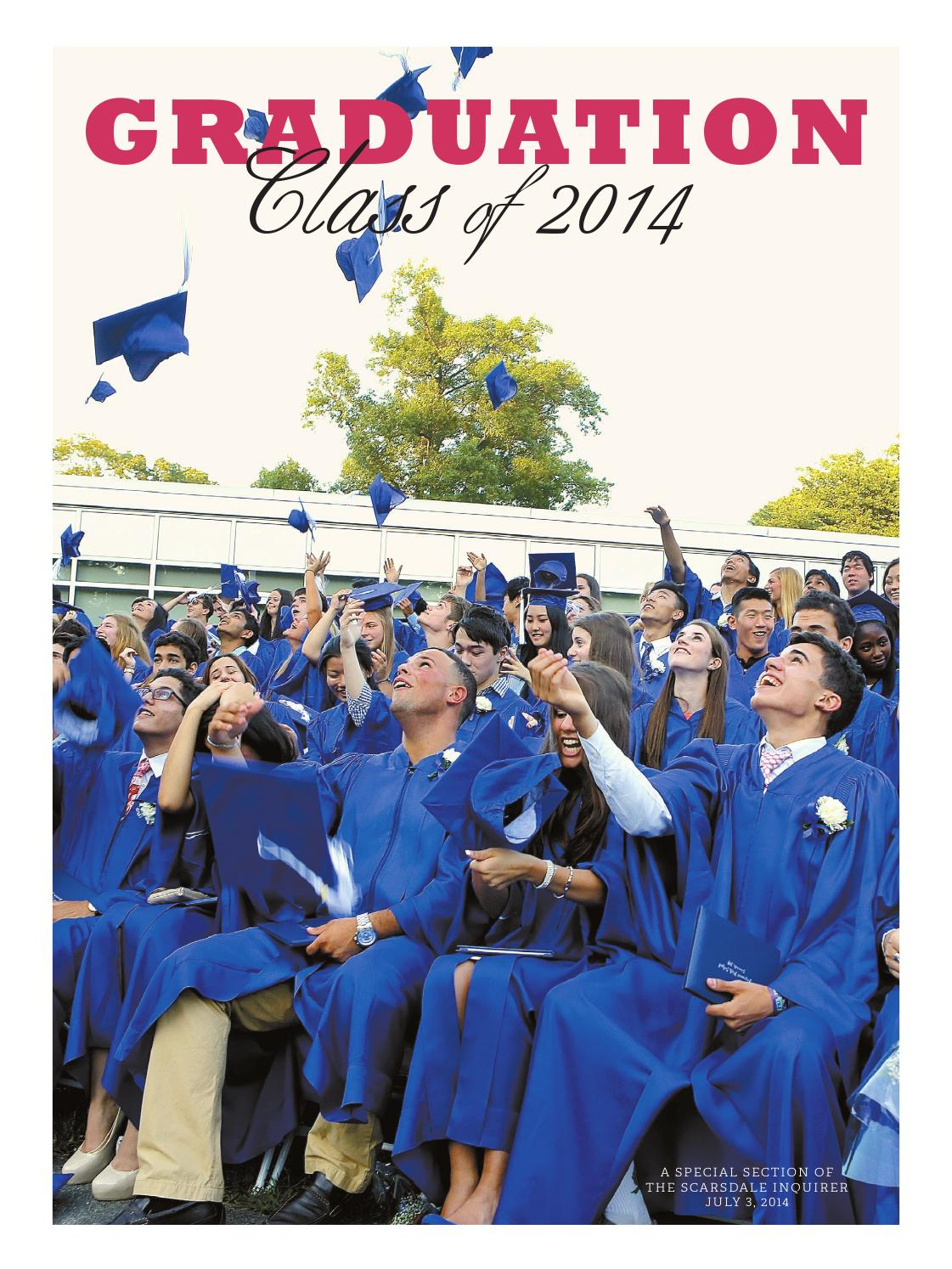 462c106cb2 Scarsdale Inquirer Graduation 2014 by The Scarsdale Inquirer - issuu