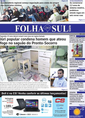 463391ede06 Folha do Sul Gaúcho Ed. 1278 (11 07 2014) by Folha do Sul Gaúcho - issuu