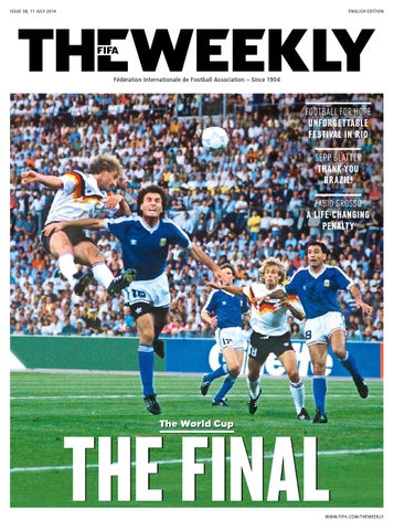 149de8608 The FIFA Weekly Issue  38 by Fédération Internationale de Football ...