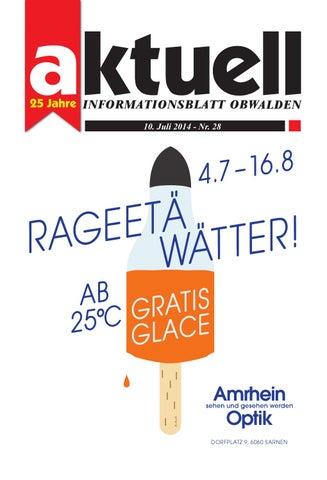 Aktuell Obwalden 28-2014 By Aktuell Obwalden Ag - Issuu