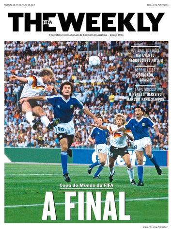 2efc23a3c7f62 The FIFA Weekly Edição  38 by Fédération Internationale de Football ...