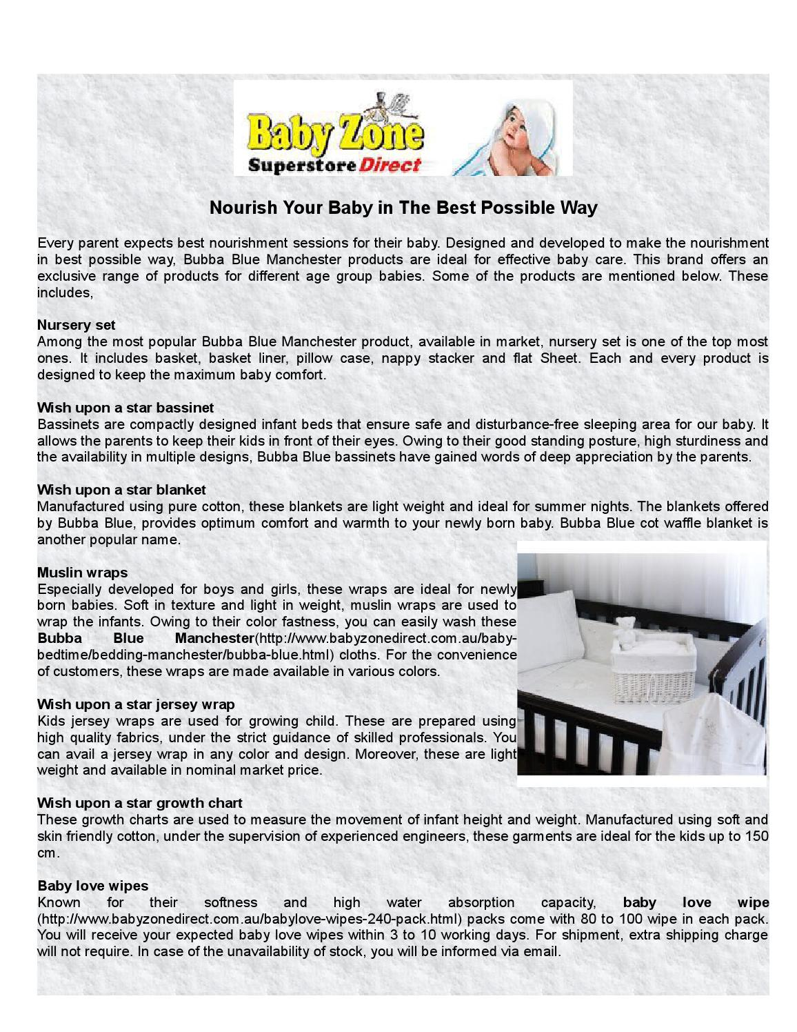 Nourish Your Baby In The Best Possible Way By Babyzonedirect Issuu