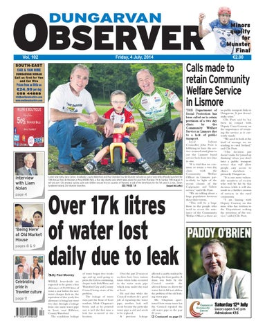 Dungarvan Observer 4 7 2014 Edition By Dungarvan Observer