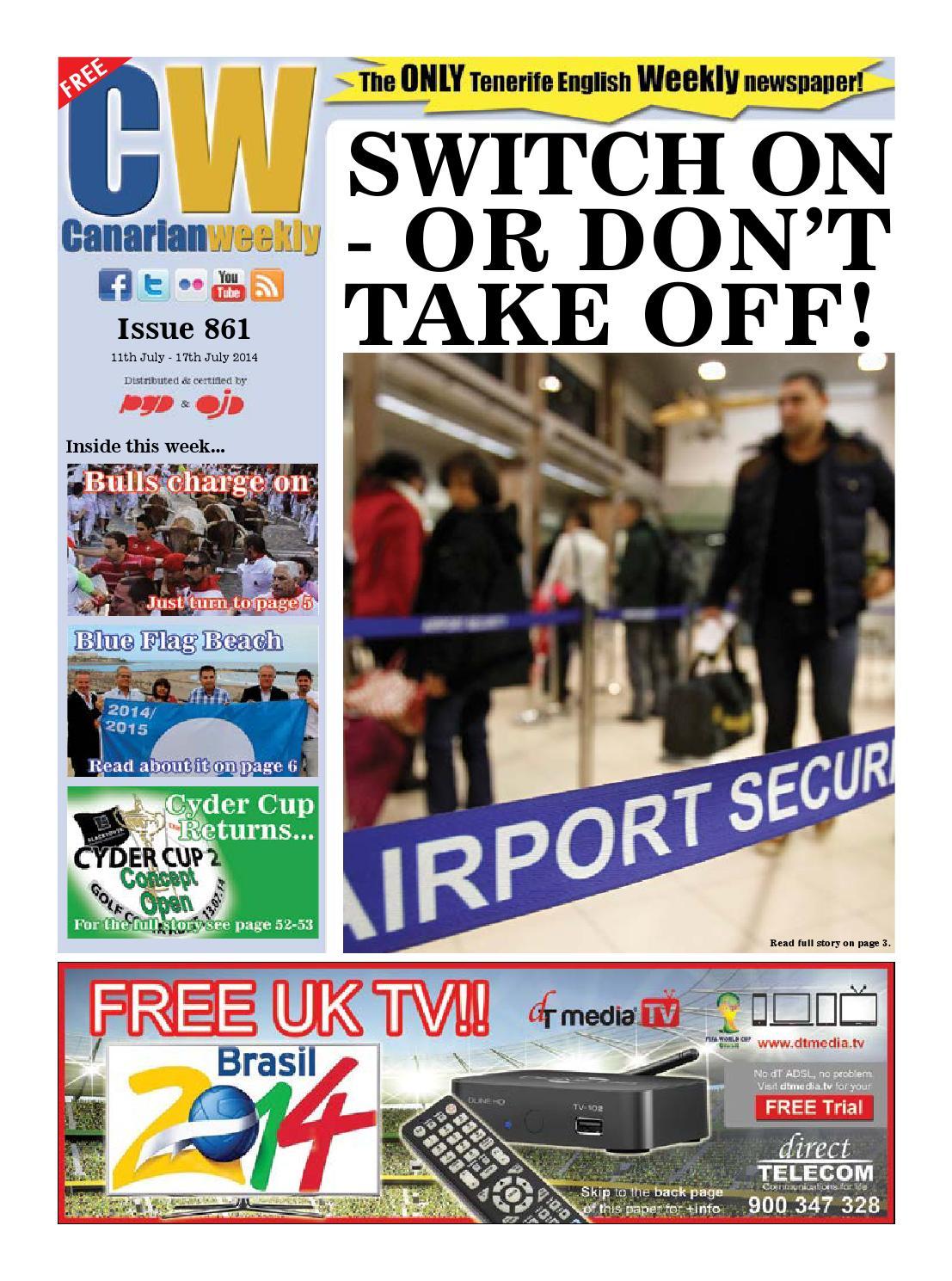 Cw issue 861 by Canarian Weekly - issuu
