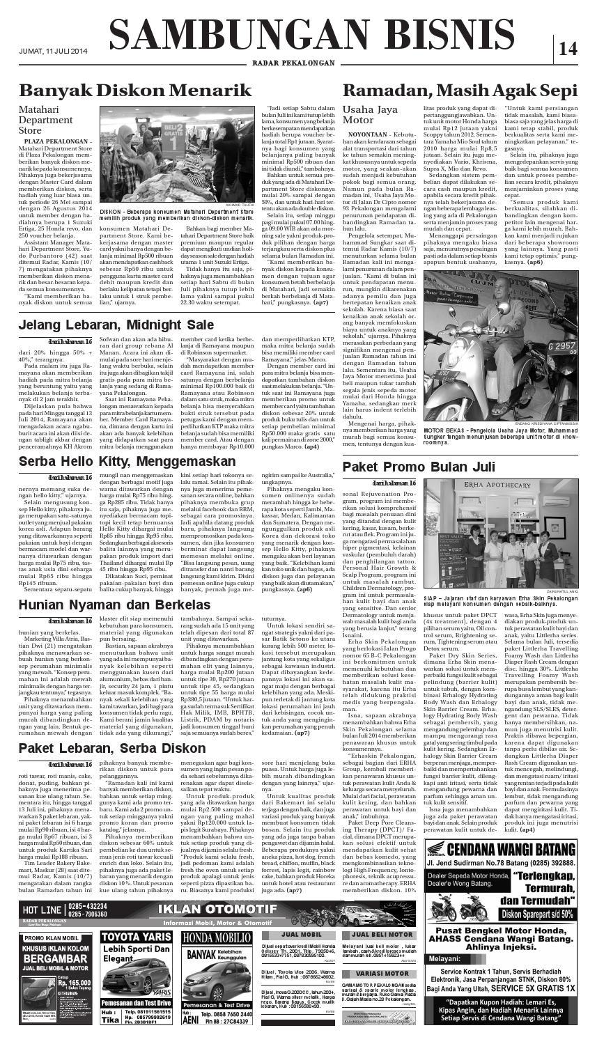 Radar pekalongan 11 juli 2014 by Radar Pekalongan - issuu 910f3543b8