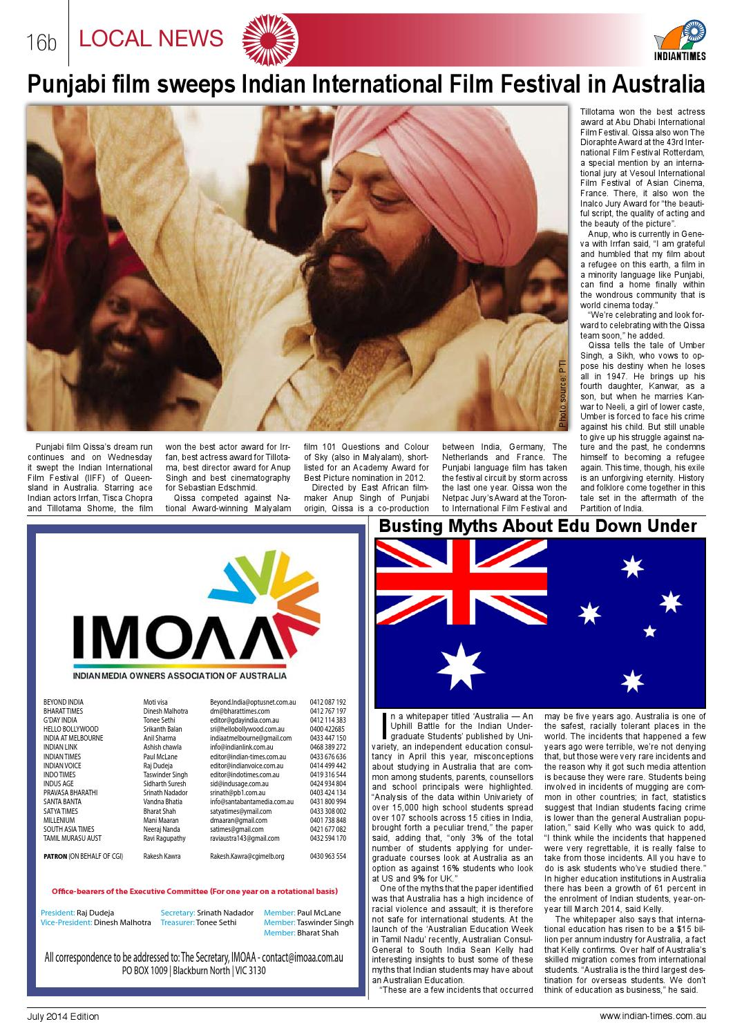 Indian Times by Paul McLane - issuu