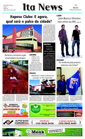 fa5bfa3a7 Jornal Ita News - Edição 792 by Ita News - issuu