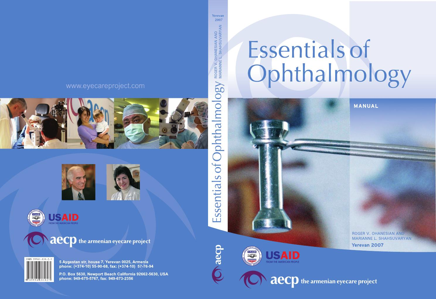 Bombe 94 dedans essentials of ophthalmologythe armenian eyecare project - issuu