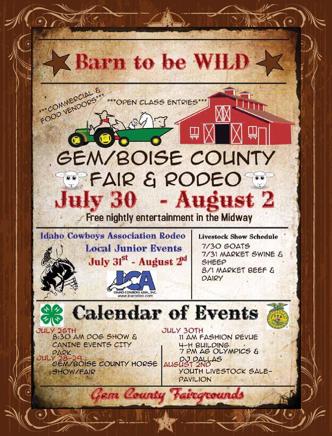 2014 Gem County Fair Book by APG-West (Idaho Press) - issuu