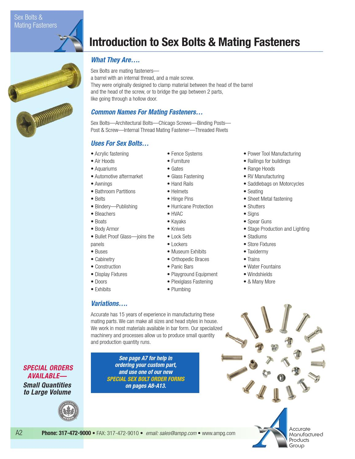 2014 AMPG Mating Fasteners Catalog by AMPG - issuu