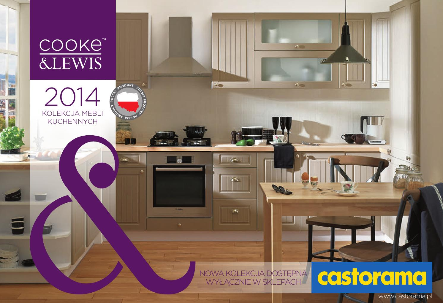 Castorama Kolekcja Mebli Kuchenych 2014 by Gazetki  issuu -> Castorama Kuchnia Unik Czarny