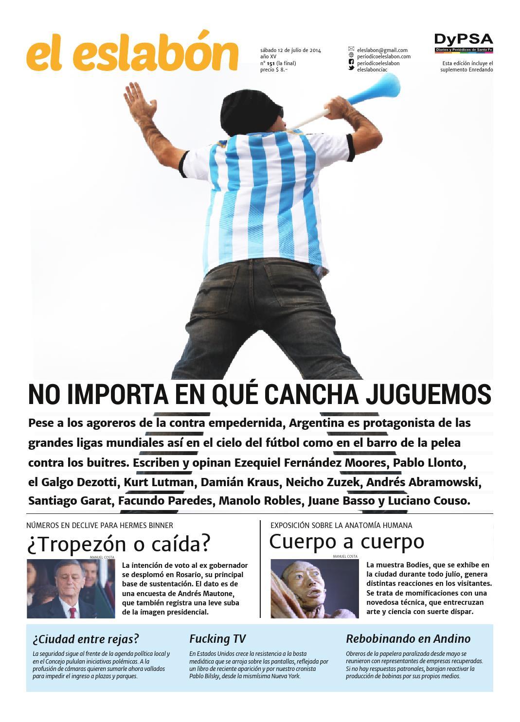el eslabón 151 by El Eslabón de la Cadena Informativa - issuu