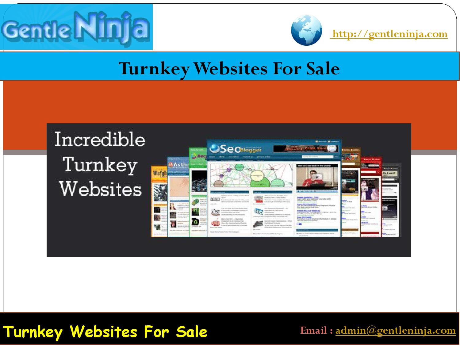 Turnkey dating website for sale