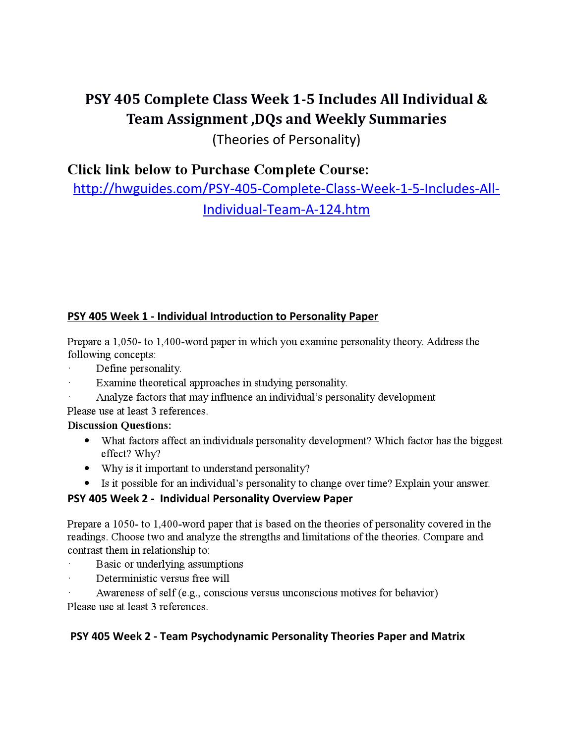 psy 270 week 5 discussion questions answers Psy 110 entire course  $3499  including the textbook, videos, and classroom discussion answer the questions in the  psy 110 week 5 building networks each week you've been learning important tools and strategies to keep you moving forward and juggling life, in general.