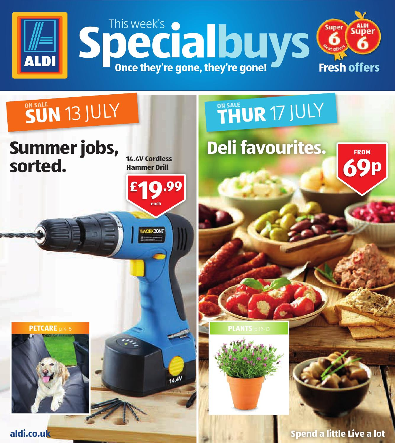 aldi uk special buys catalogue valid from to 17. Black Bedroom Furniture Sets. Home Design Ideas