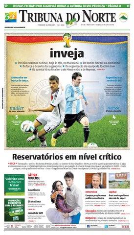 Tribuna do Norte - 13 07 2014 by Empresa Jornalística Tribuna do ... fb2261c383ff1