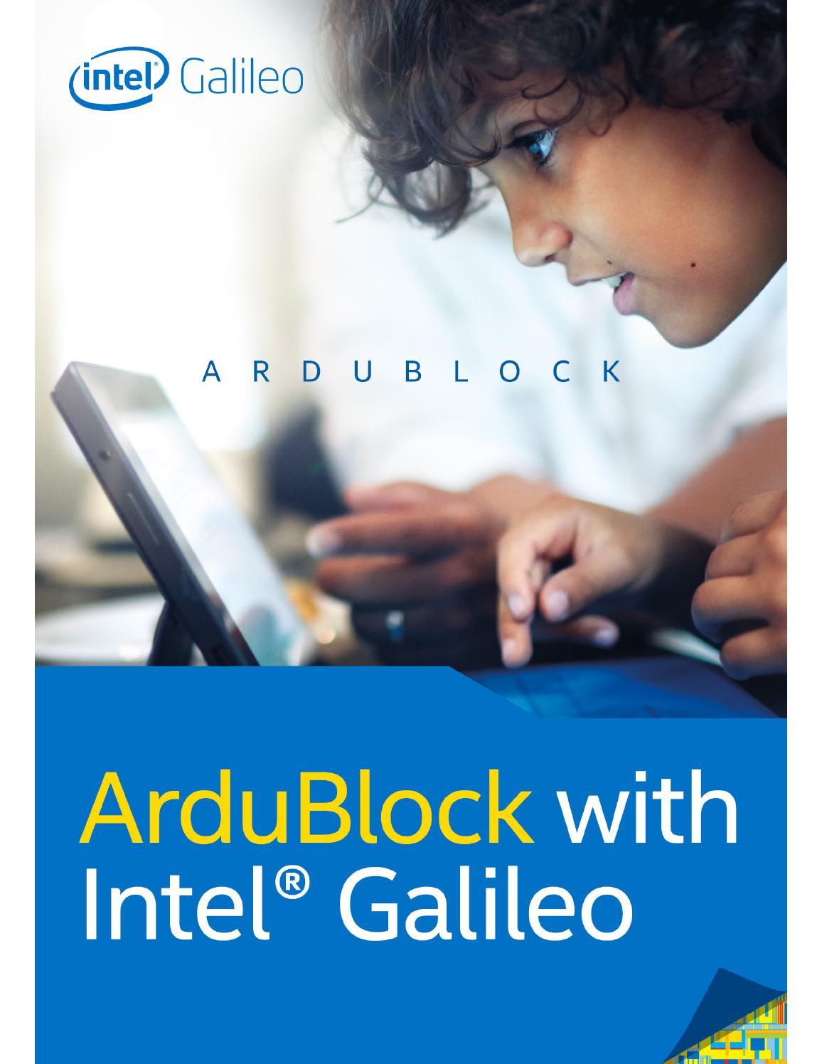 Ardublock with Intel Galileo by Intel_Product - issuu