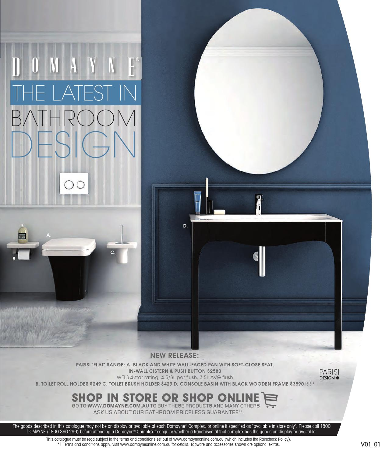 The Latest In Bathroom Designs by Domayne - issuu