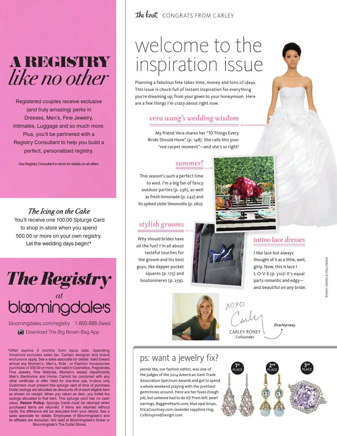 The Knot Summer 2014 By The Knot Issuu