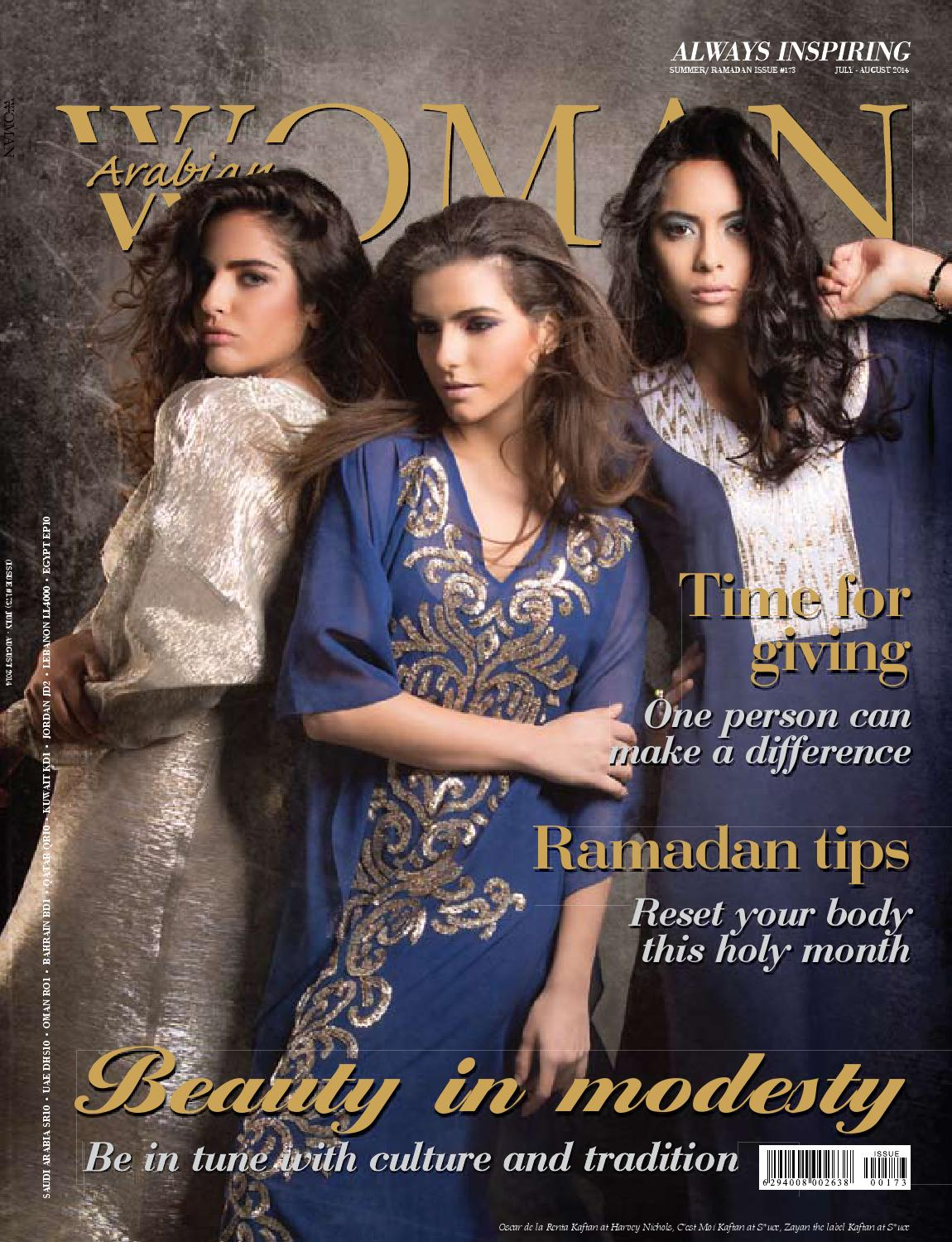 Arabian Woman July/August 2014 Issue by Arabian Woman - issuu