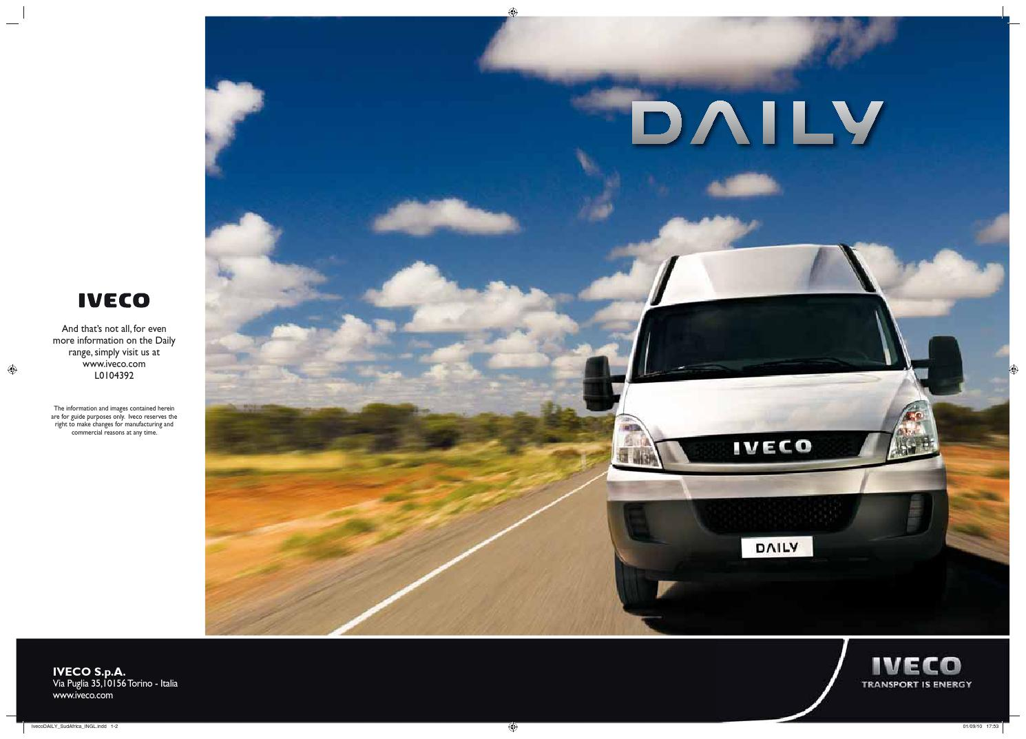 Daily Brochure by Iveco - issuu