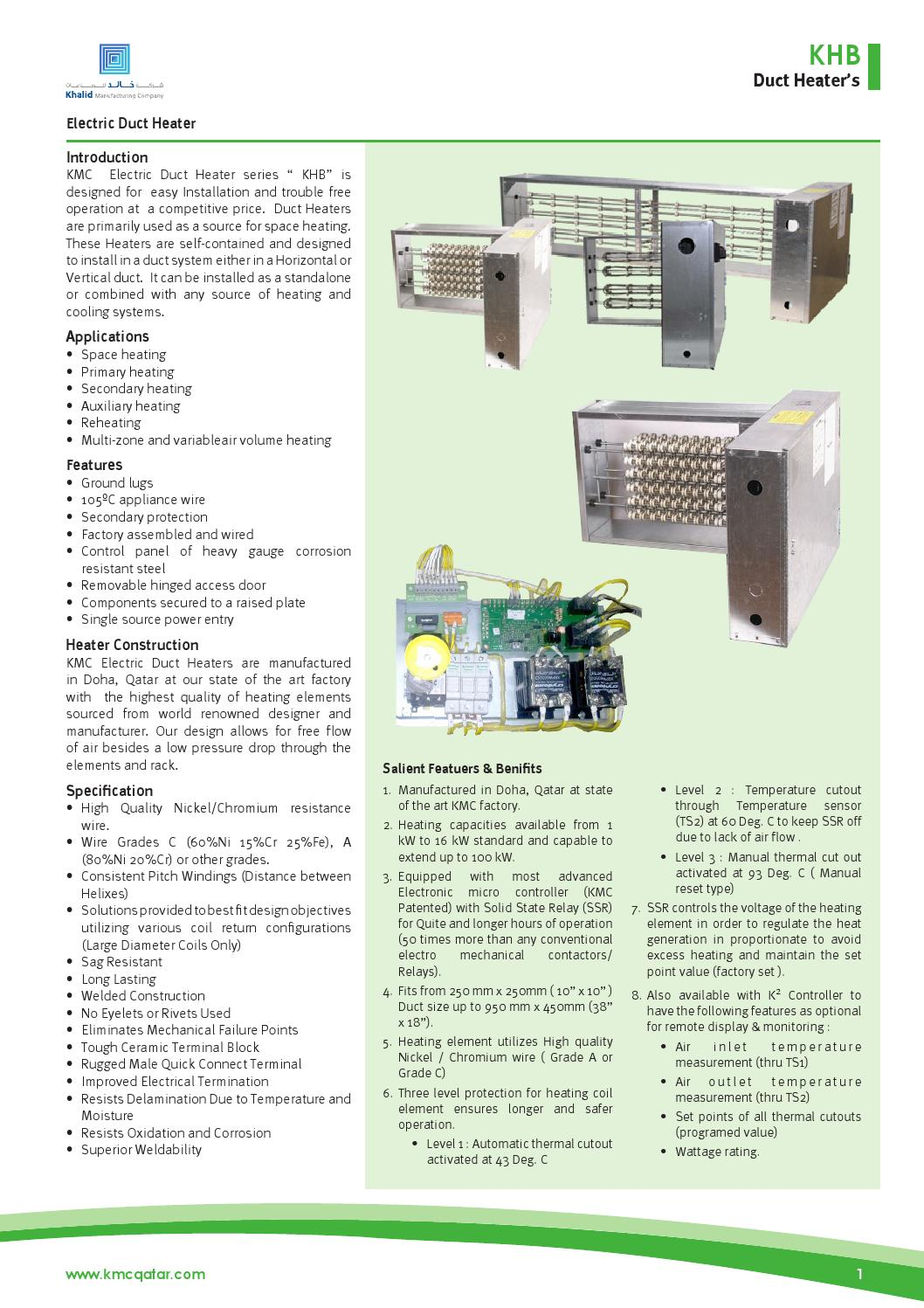 Model heater by Khalid Manufacturing Company - issuu