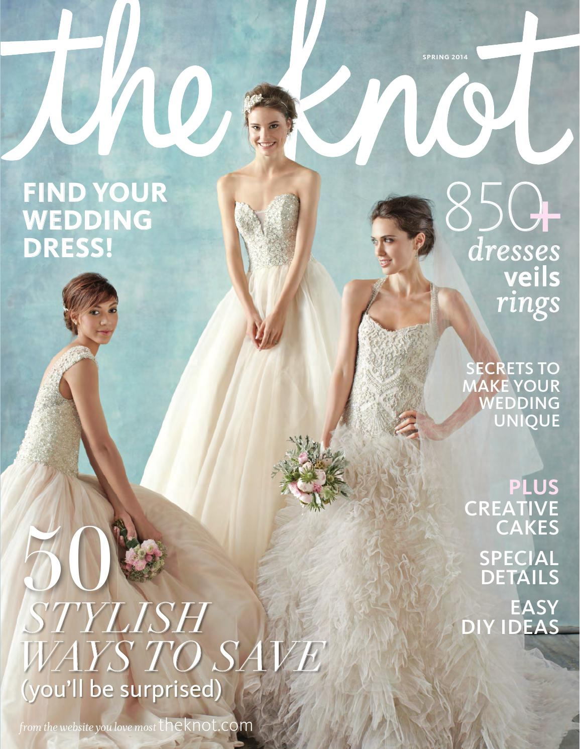 The Knot Spring 2014 by The Knot - issuu 2493978f9834