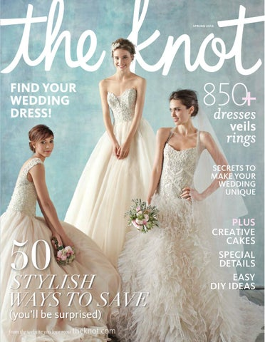 ed7573b4f113 The Knot Spring 2014 by The Knot - issuu