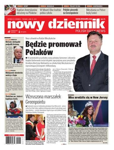 738513e72e497 Nowy Dziennik 2011/06/21 by Nowy Dziennik - issuu