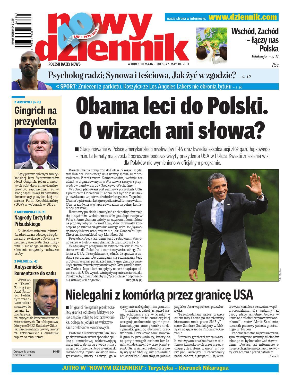 ff0cec413 Nowy Dziennik 2011/05/10 by Nowy Dziennik - issuu