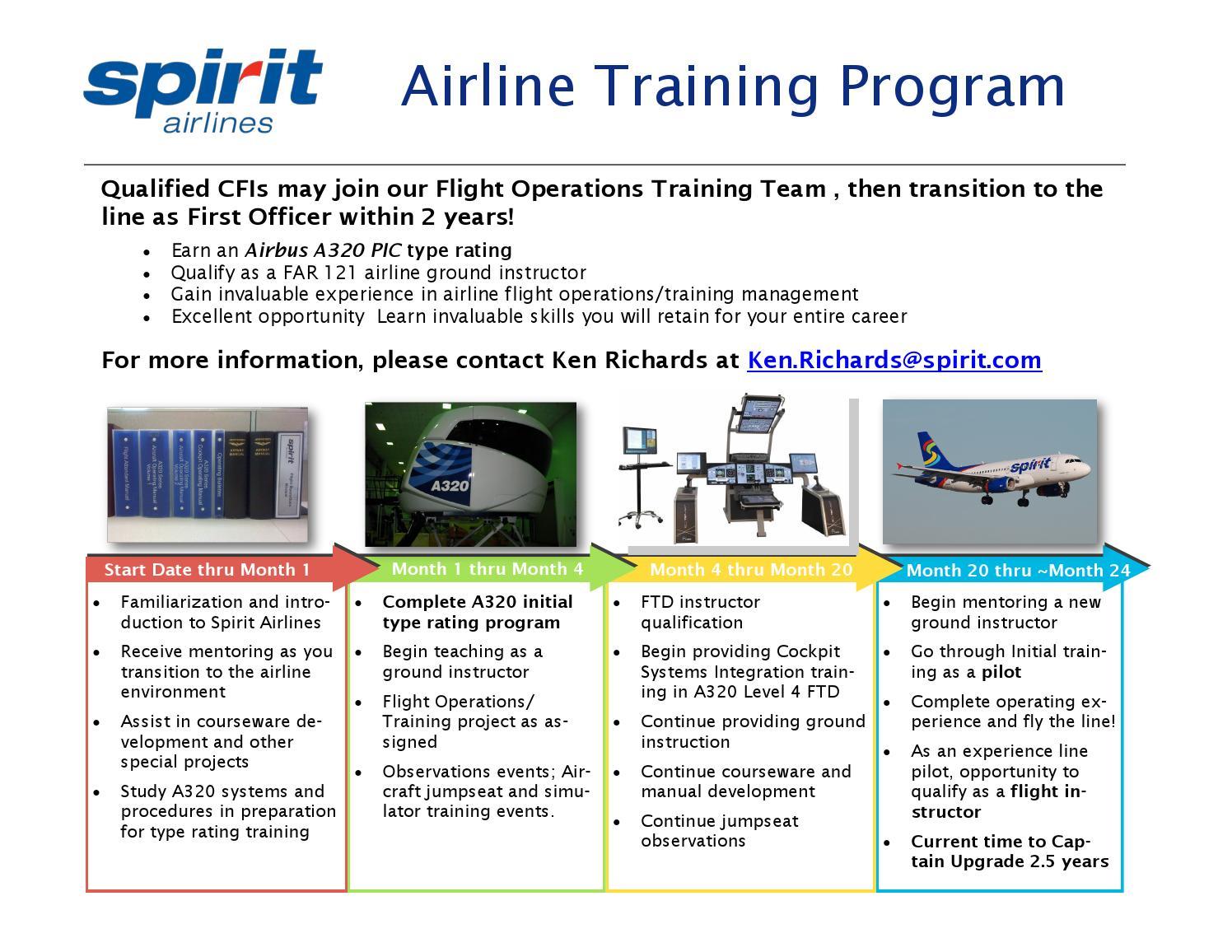 Spirit Airlines training program brochure(1) by ScottRehn
