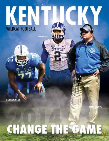 a84da3a7c 2014 Kentucky Football Media Guide by University of Kentucky ...