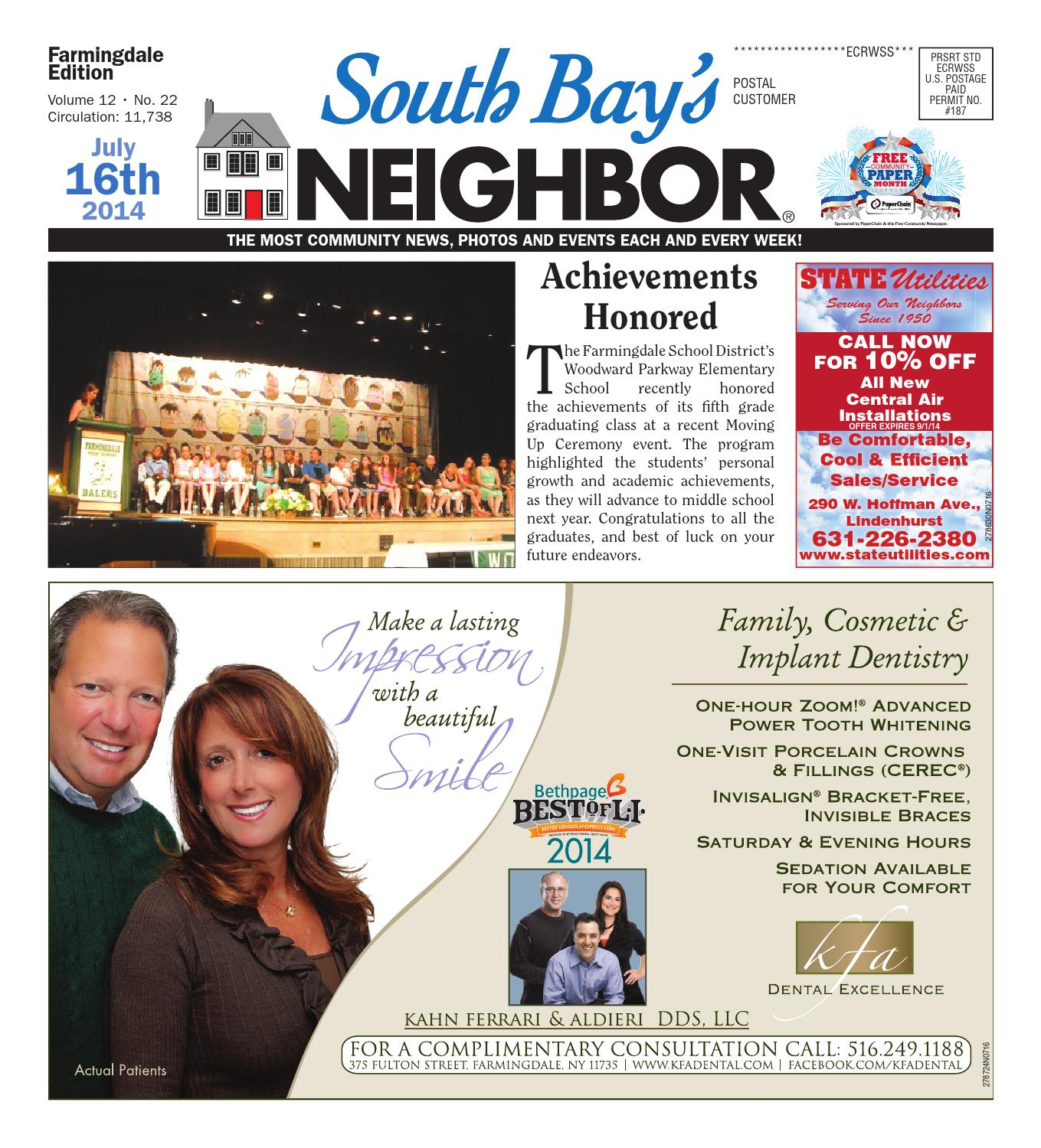 July 16, 2014 Farmingdale by South Bay's Neighbor Newspapers