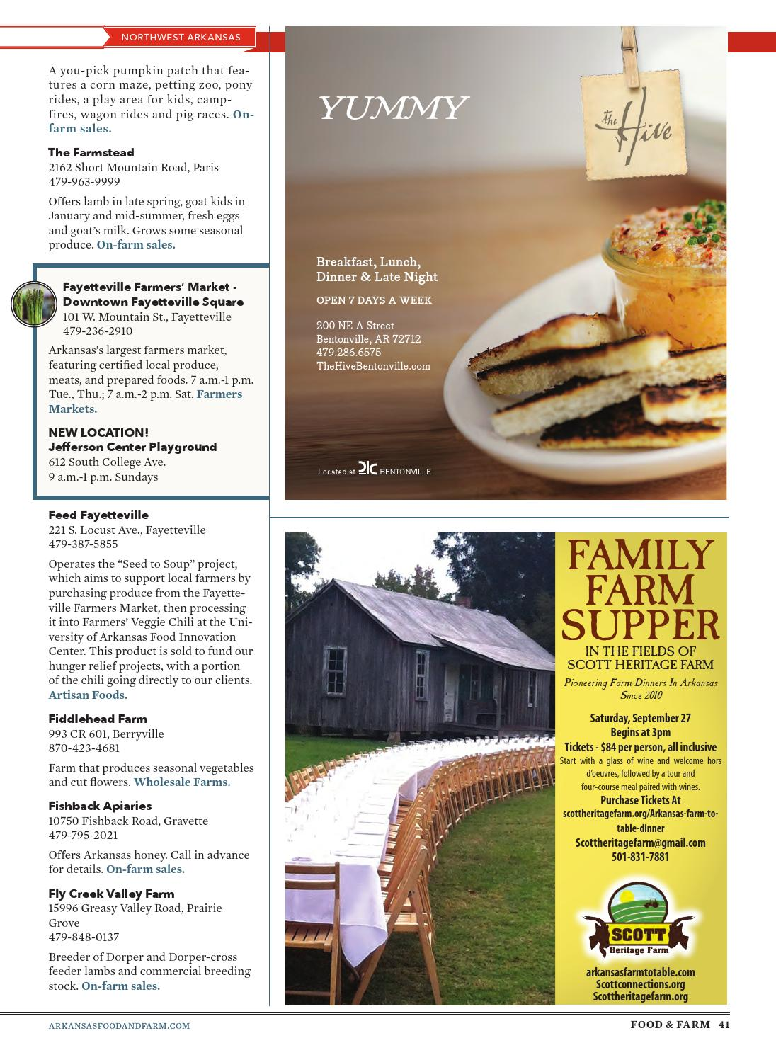 Arkansas Food & Farm - Summer 2014 by Arkansas Times - issuu
